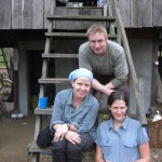 The team in Cambodia! Richard, Anna and Carly