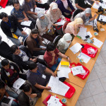Our volunteers helped to make this illegal trade workshop a success