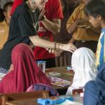 Anna working with children