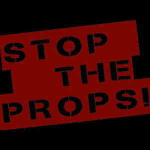 stop the props logo 2