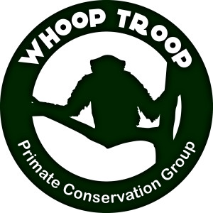 Whoop Troop Logo Sticker