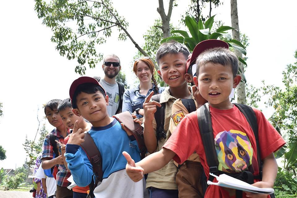 volunteering for conservation education little fireface project